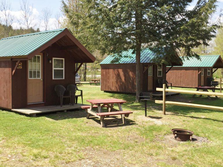 Riverside Rustic Cabins